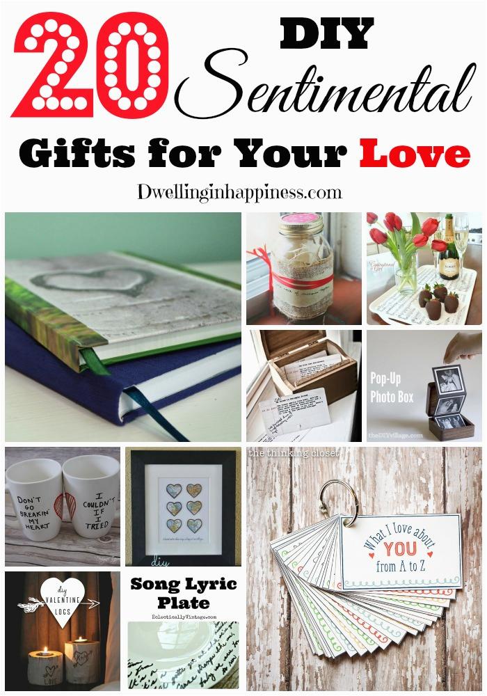 20 diy sentimental gifts love budget friendly