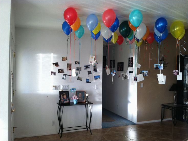 Special 30th Birthday Ideas for Him Did This In My Entry Way for Husbands 30th Birthday 30