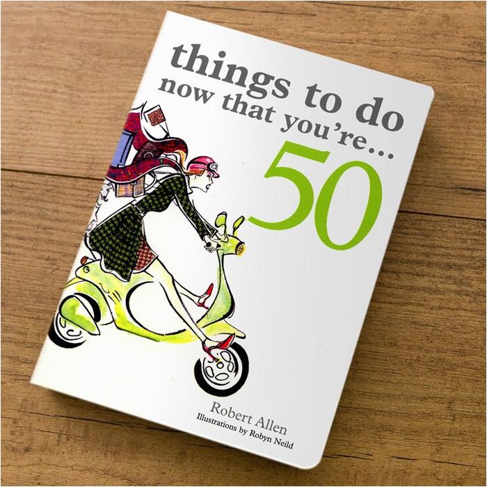 50th birthday gift ideas books