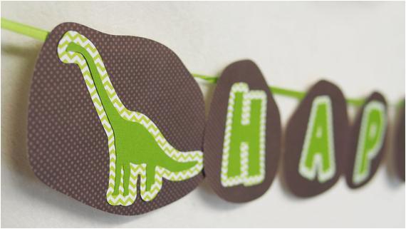 dino dig dinosaur happy birthday banner