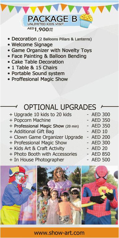 Unique Birthday Gifts for Him Dubai Birthday Party Planner organizer In Dubai Kid 39 S