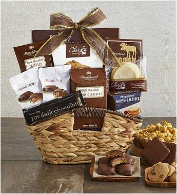 birthday gift baskets food