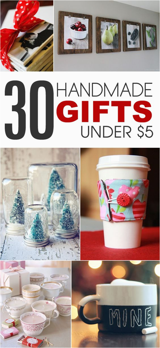 Unique Handmade Birthday Gifts for Him 30 Handmade Gift Ideas to Make for Under 5 Homemade