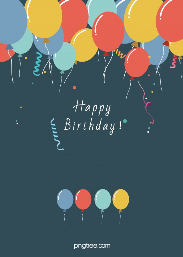 birthday poster background material 261908