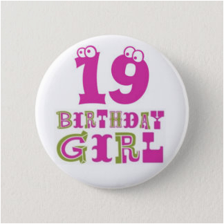 19th Birthday Presents for Him Girls 19th Birthday Party Gifts On Zazzle