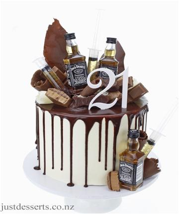 21st birthday cake gallery