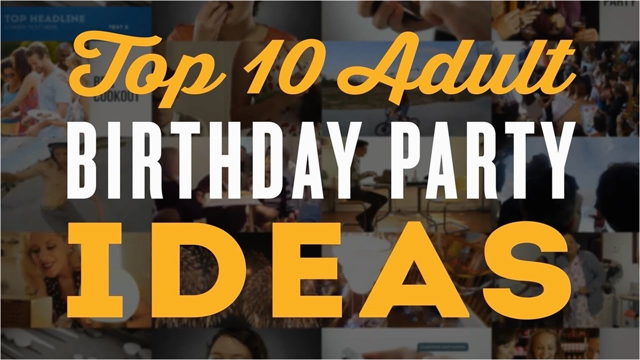 10 trendy 60th birthday party ideas for men