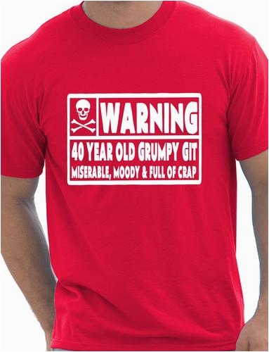 40th Birthday Gag Gifts for Him 40 Year Old Git Mens Funny 40th Birthday Gift Fathers Day