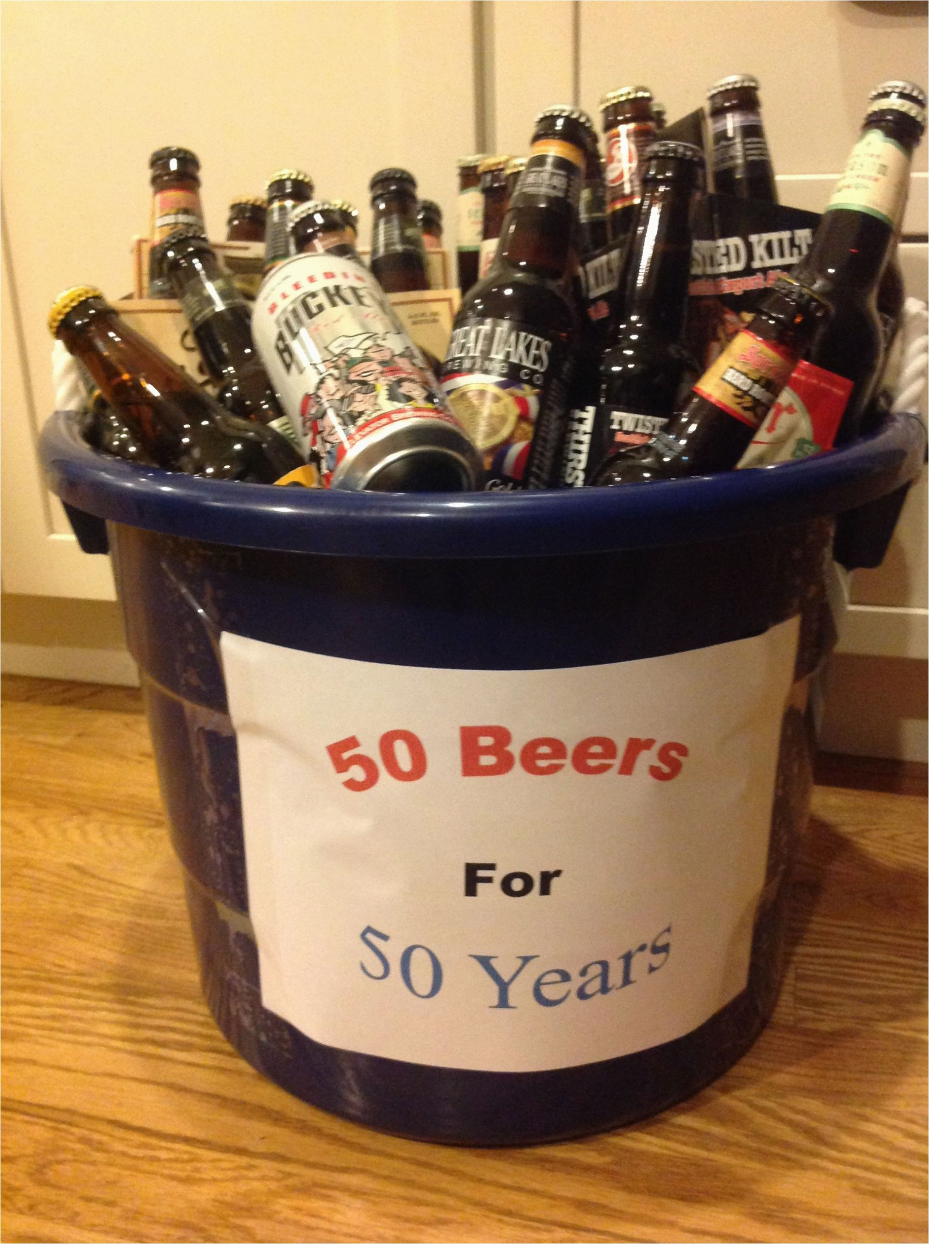 50th Birthday Gifts for Him 50th Birthday Gift for Your Guy Gifts 50th Birthday