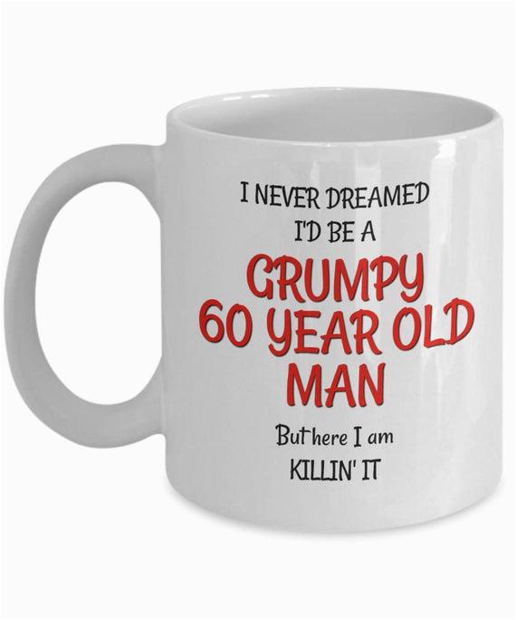 60th birthday mug for men funny 60th