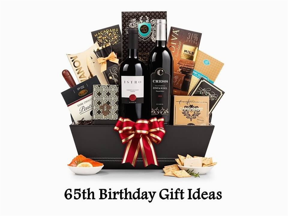 65th birthday gift ideas