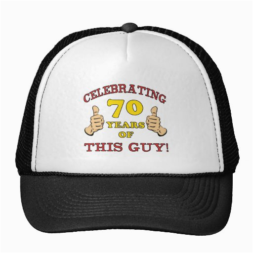 70th birthday gift for him trucker hat 148576720861127106