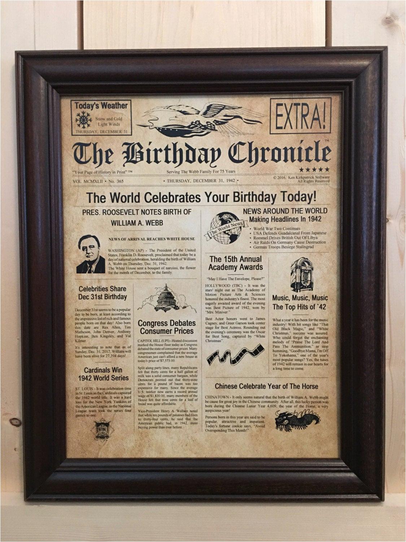 75th birthday 75th birthday gifts