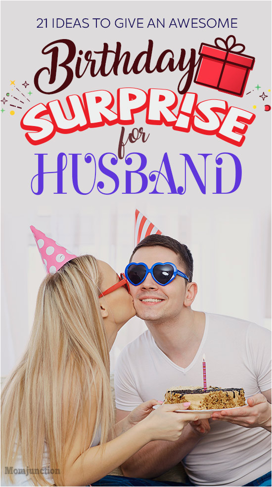 romantic ways to give birthday surprise to your husband 00407865