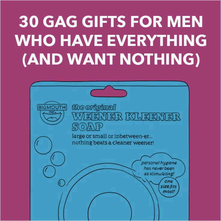 50th birthday gift for a man who has everything