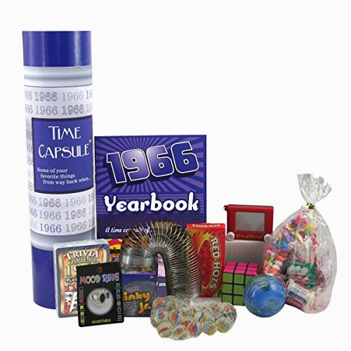 Best 50th Birthday Gifts for Man 1966 Time Capsule 50th Birthday Gift for Men or Women