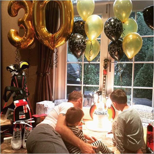 pregnant coleen rooney leads glamorous manchester united wags celebrate husband wayne s 30th birthday liverpool