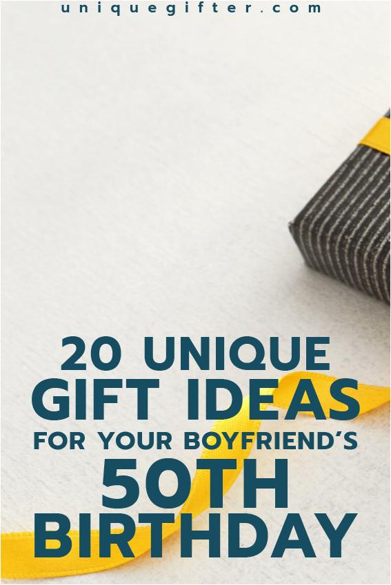 20 gift ideas boyfriends 50th birthday