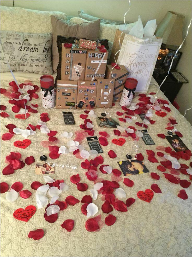 decoration of room for boyfriend birthday
