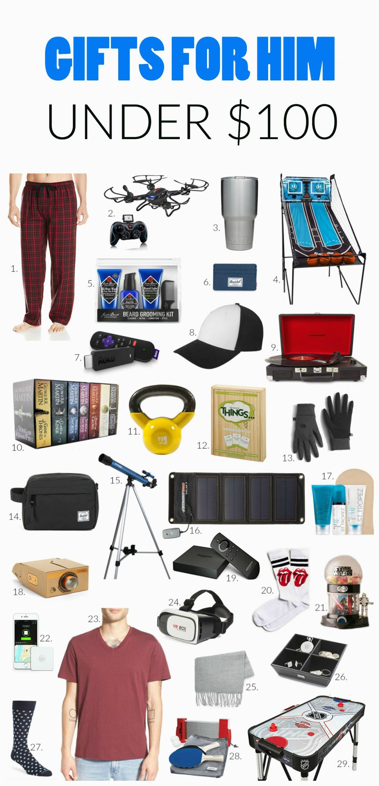 Birthday Gift Ideas for Him Usa Gift Ideas for Him Under 100 Influenceher Collective