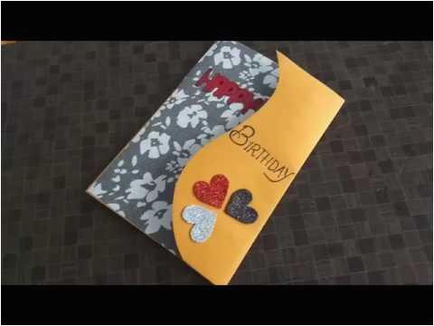 Birthday Gift Ideas for Husband Handmade Beautiful Handmade Birthday Card Idea for Wife Complete