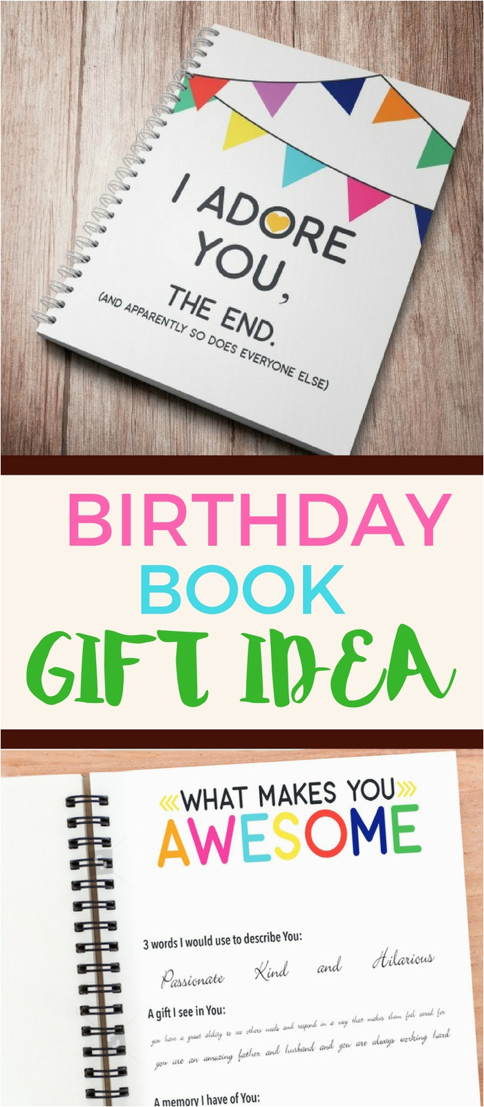 happy birthday to my husband letter book