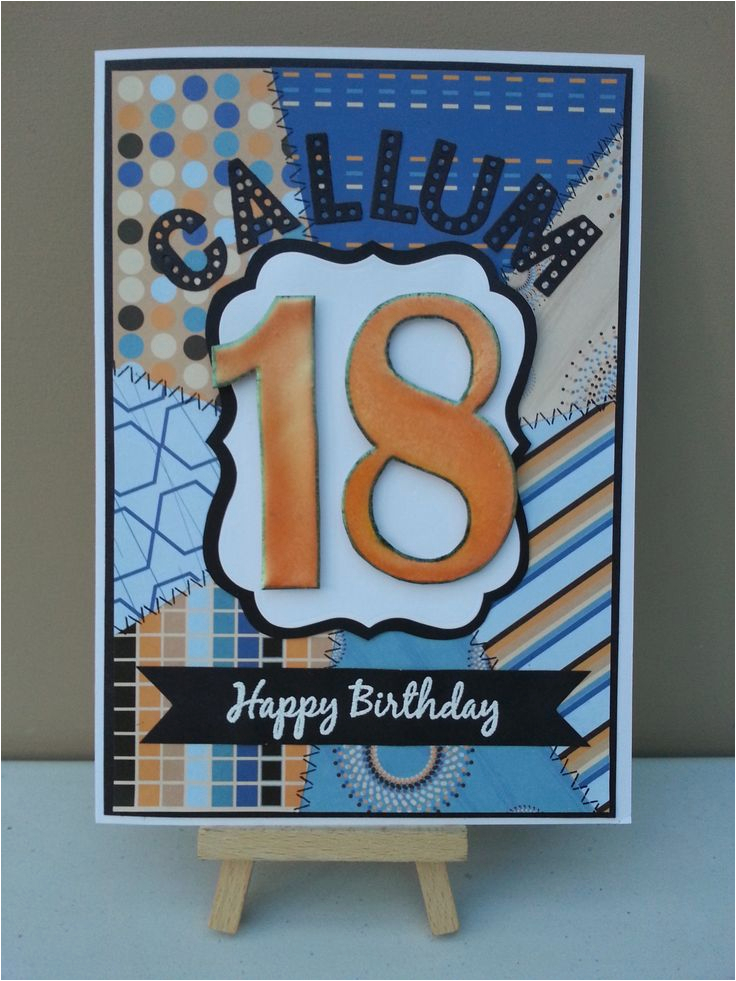 cards 18th birthday cards for males