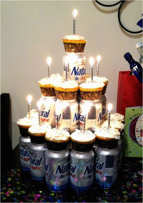 Birthday Gifts for 30 Year Old Boyfriend Cupcakes Your Man 39 S Favorite Beer Cute Idea for My