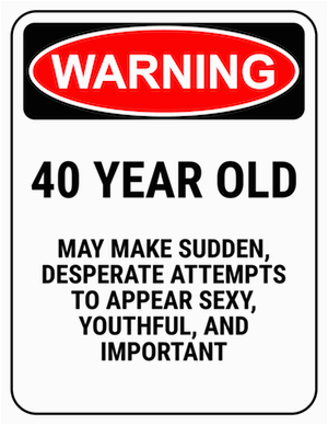 Birthday Gifts for 40 Year Old Male Funny 40th Birthday Gag Gifts