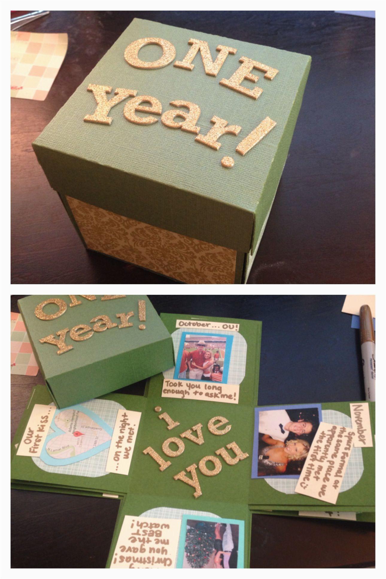 1 year anniversary gift ideas boyfriend