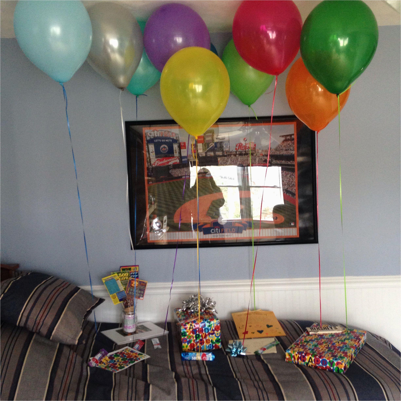boyfriend birthday surprises