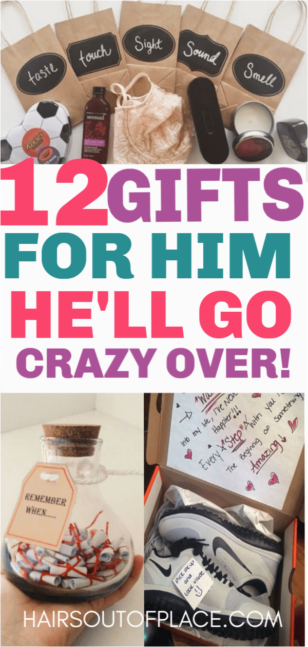 Birthday Gifts for Boyfriend Under 100 12 Cute Valentines Day Gifts for Him