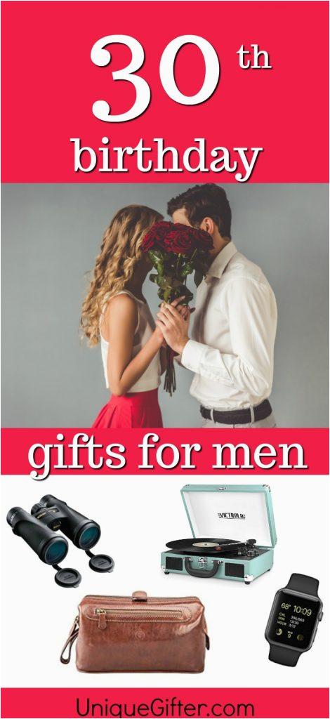 20 gift ideas husbands 30th birthday