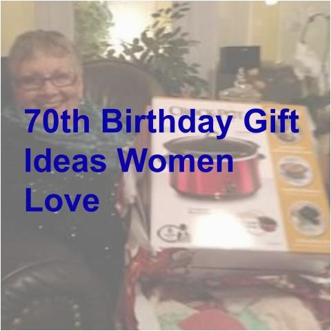 70th birthday gift ideas women will love
