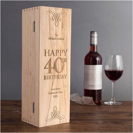 40th birthday gifts