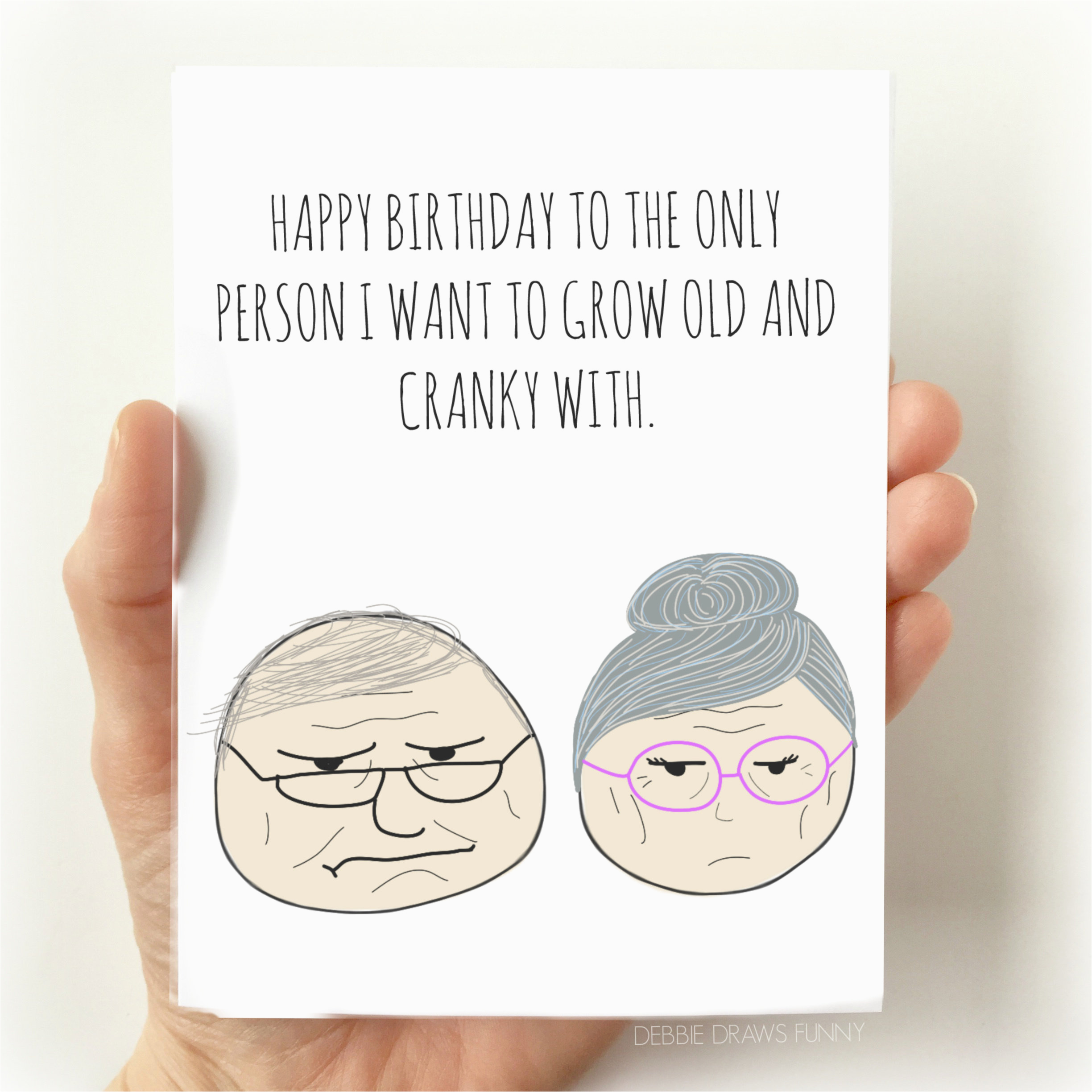funny birthday card for husband funny