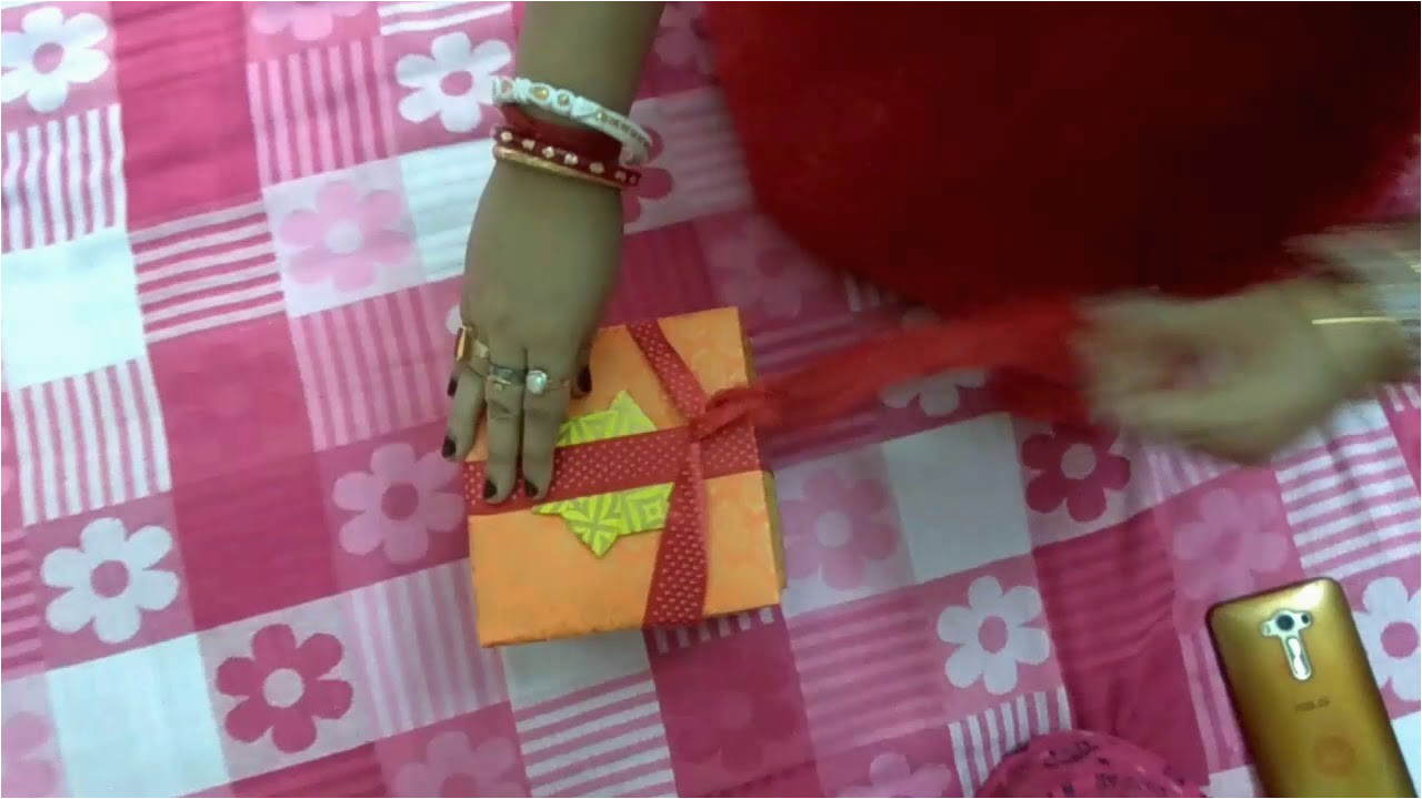 handmade birthday gift for my husband self made madona dutta sadhu