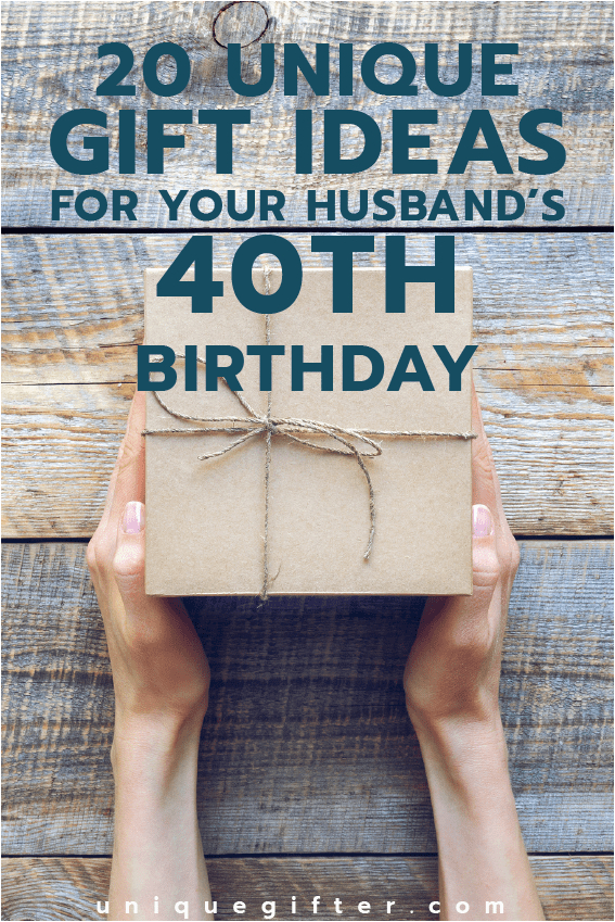 Birthday Gifts for Husband Target 40 Gift Ideas for Your Husband 39 S 40th Birthday Unique Gifter