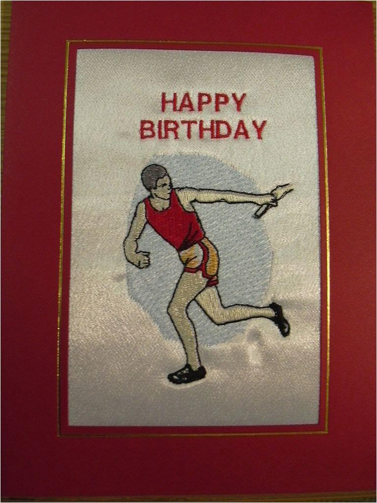 happy birthday relay runner 15606 p