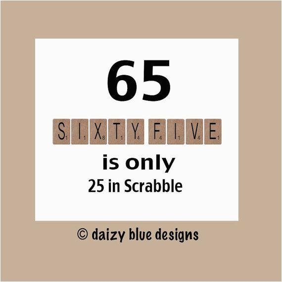 Birthday Ideas for 25 Year Old Male 65th Birthday Card 65th Birthday Milestone by