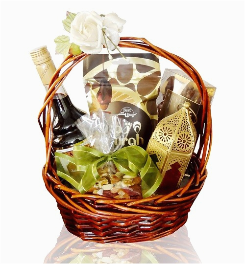 Birthday Ideas for Boyfriend In Dubai Sweet Dates Nuts Gift Basket Free Online Gift Delivery