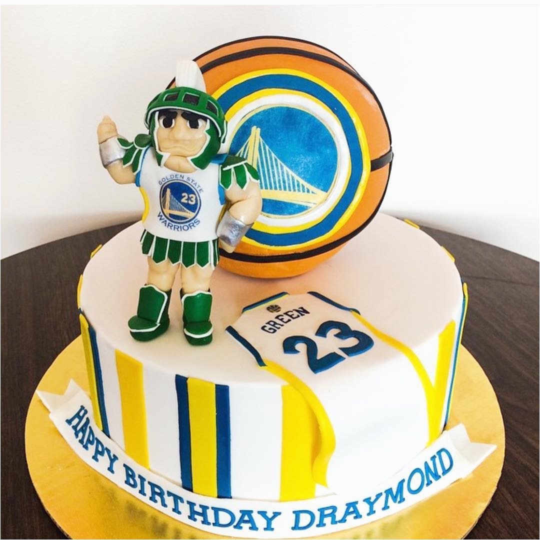 warriors birthday cakes pretty please bakeshop sf 11023787