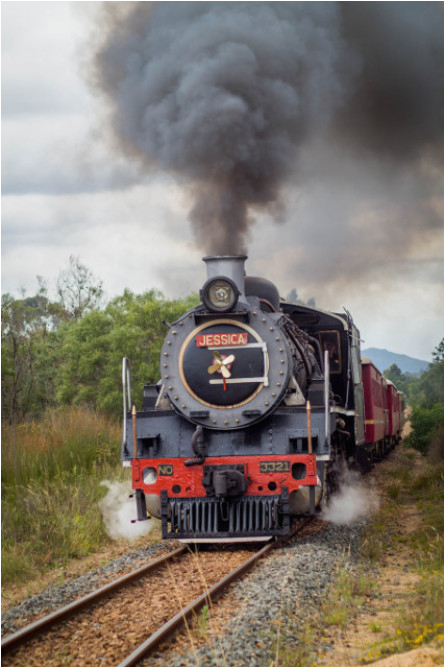 steam train experience with lunch for two cape town