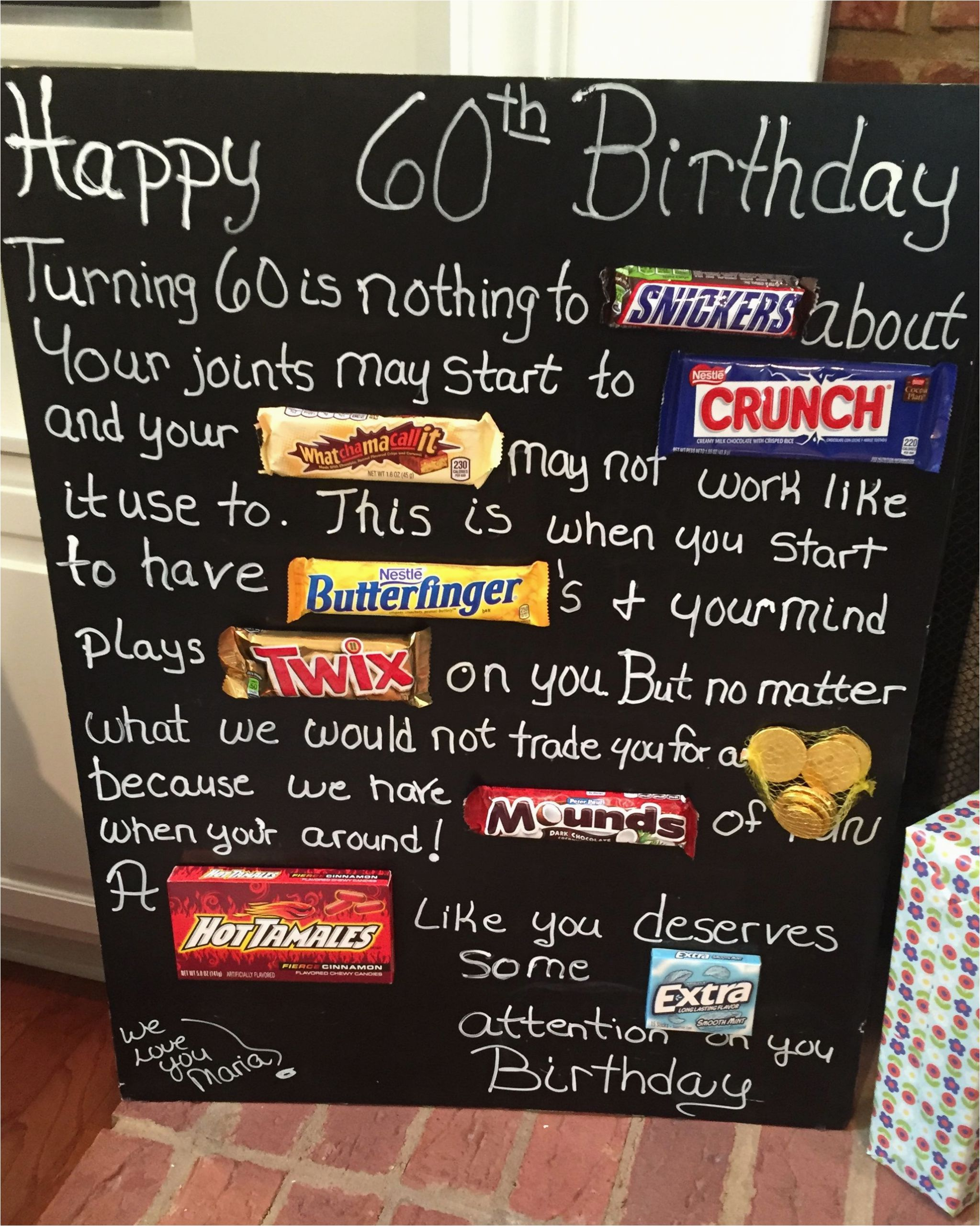 Birthday Ideas for Husband Turning 35 Old Age Over the Hill 60th Birthday Card Poster Using