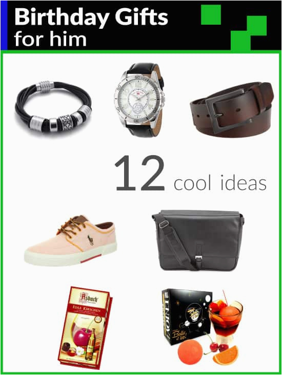 12 cool birthday gifts for him