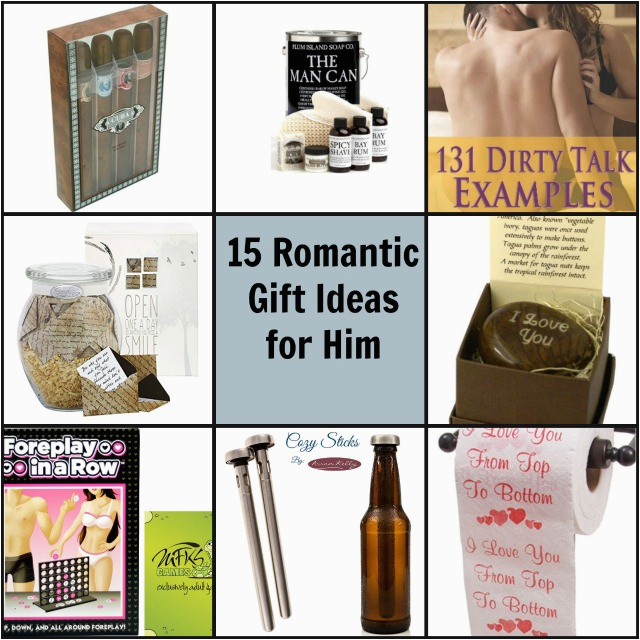 unique romantic gift ideas for him