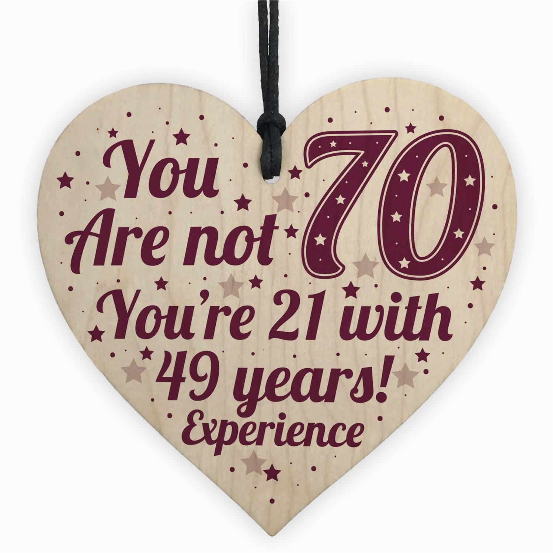 70th birthday gift for women men 70th birthday card mum gift