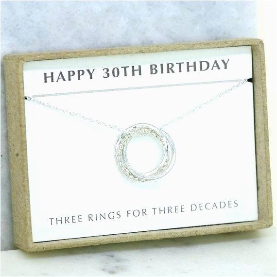 30th birthday presant