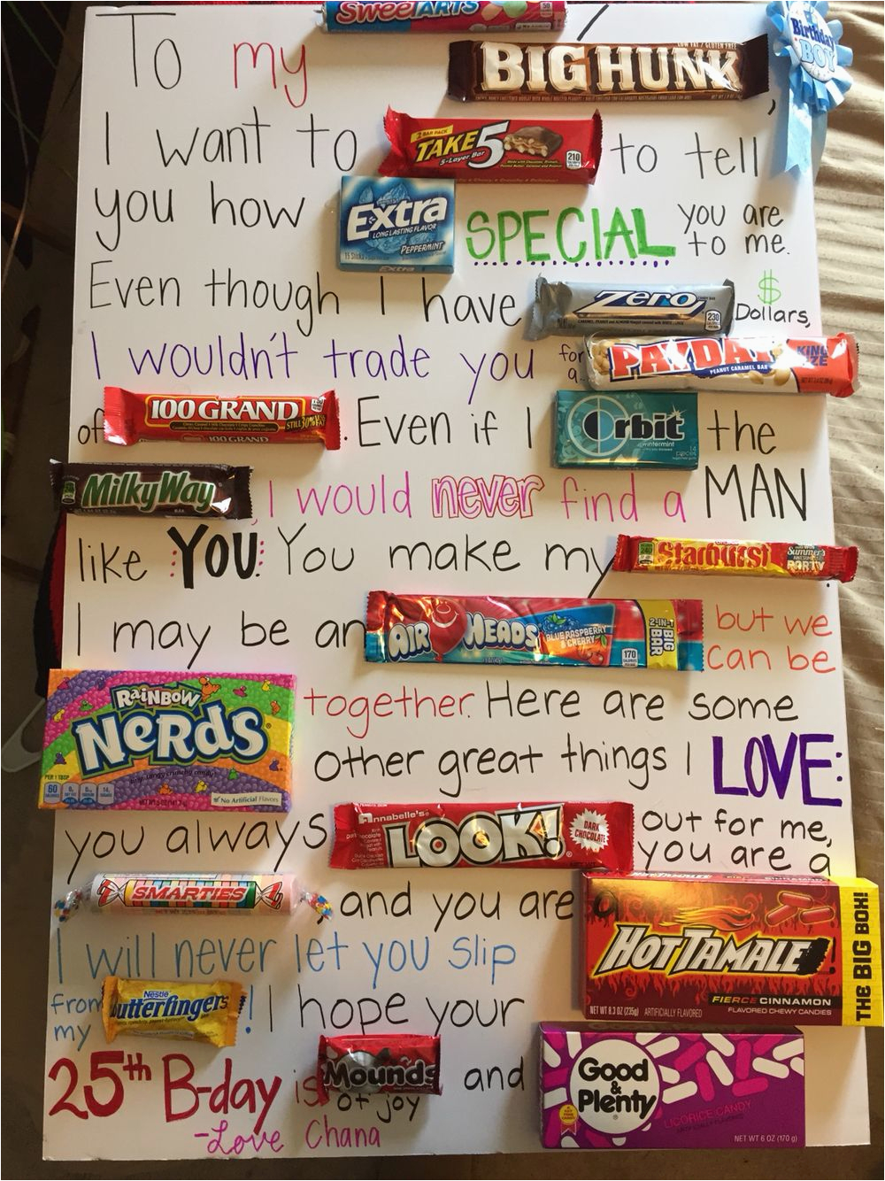 Creative Birthday Ideas for Him I Made This Diy Birthday Gift for My Fiance This Year
