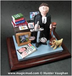 Electronic Birthday Gifts for Husband Lawyer Figurine Custom Made What A Great Gift for the